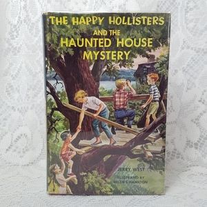 1962 The Happy Hollisters Haunted House Mystery